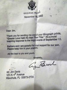 President Bush Letter web