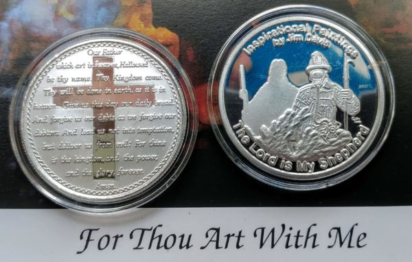 99% Silver Matting Coin